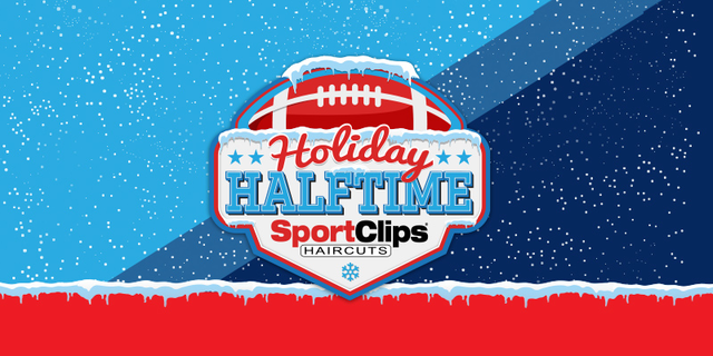 Holiday Halftime Promotion with Frozen Football