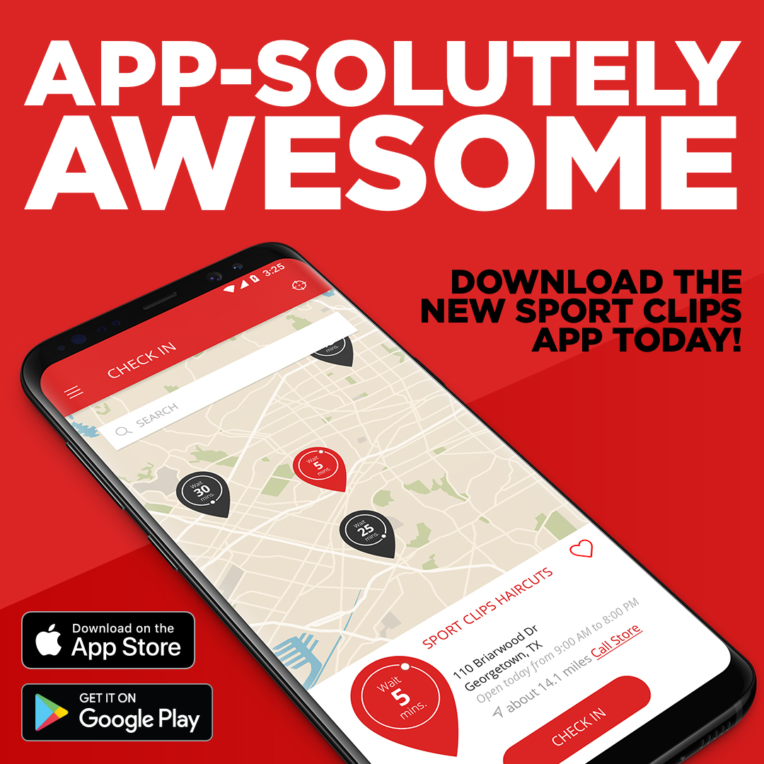Sport Clips Haircuts New Mobile App Shaves Time Off Check In And