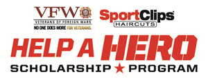 Sport Clips and the VFW Help a Hero scholarship program
