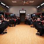 Sport Clips store with clients and stylists