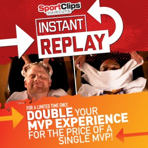 Double The Sport Clips Experience When You Rinse Relax Repeat During