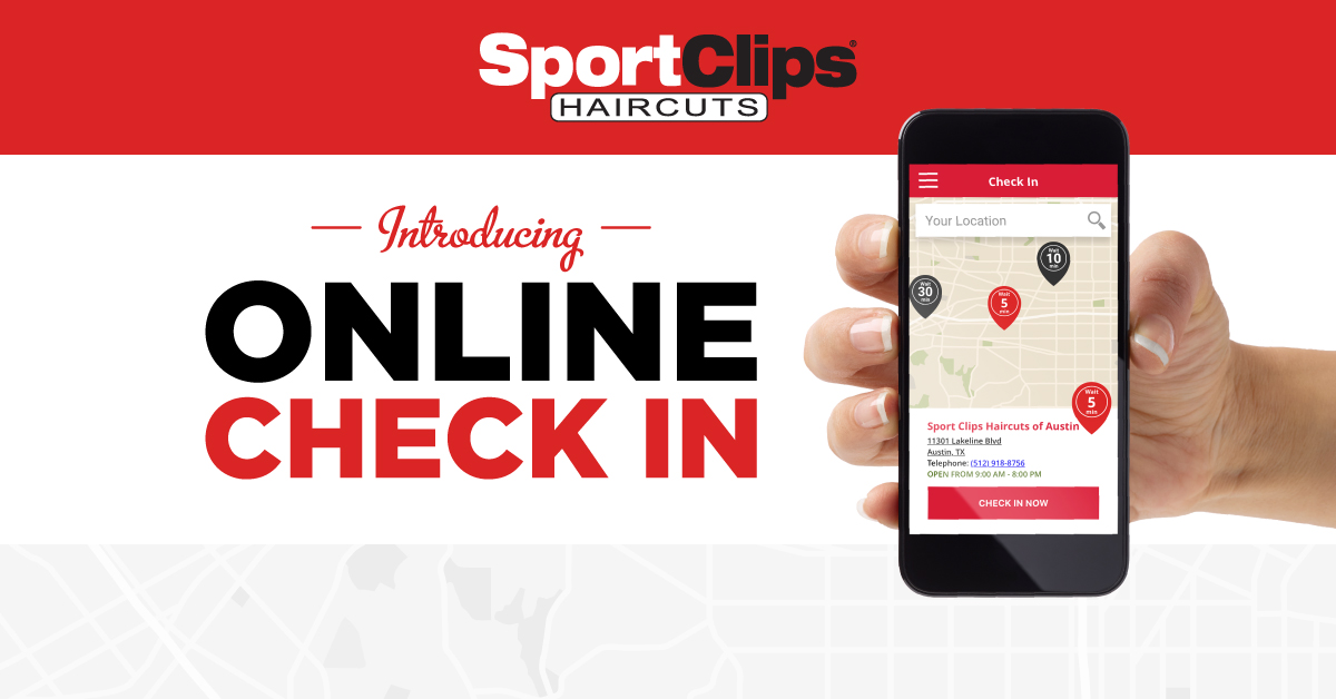 Get In Line Online Now At Sport Clips Haircuts