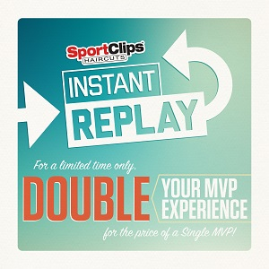 Double The Mvp Experience With Sport Clips Haircuts Instant Replay