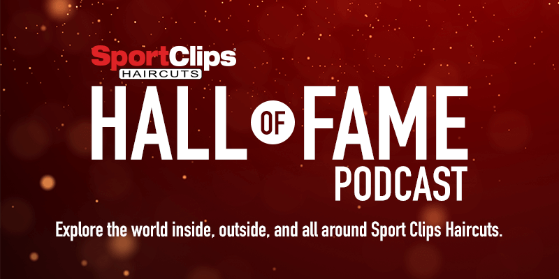 Banner announcing Hall of Fame Podcast