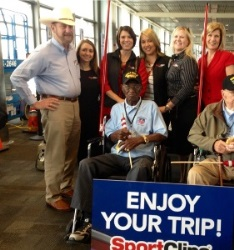 Sport Clips Honor Flight Network Supporting Veterans