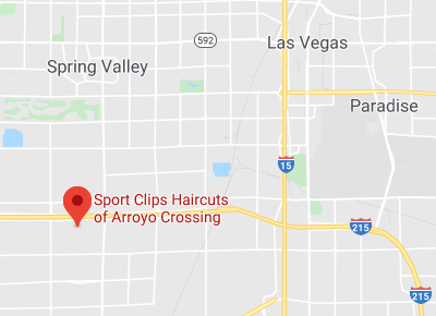 Map to Sport Clips of Arroyo Crossing
