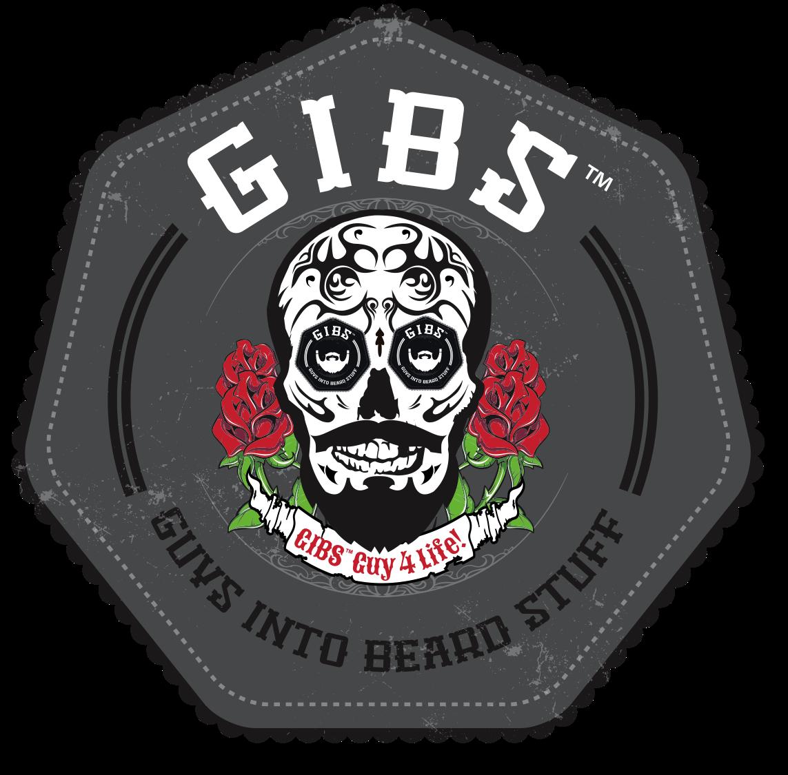 GIBS Grooming Skull logo