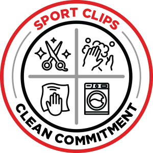 Sport Clips Clean Commitment Seal